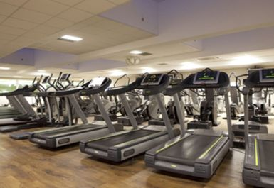 TREADMILLS AT BARNET COPTHALL LEISURE CENTRE LONDON