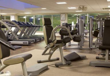 MAIN GYM AREA AT BARNET COPTHALL LEISURE CENTRE