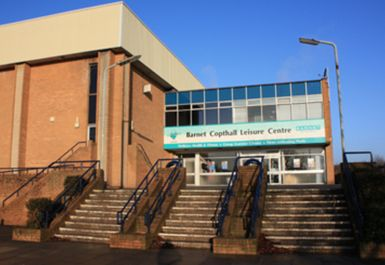 ENTRANCE AT BARNET COPTHALL LEISURE CENTRE LONDON