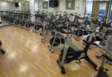 spinning at Highgrove Pool and Fitness Centre