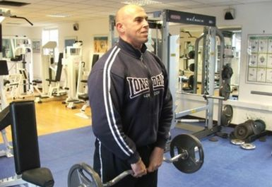 weights at Cranfield University Fitness Centre