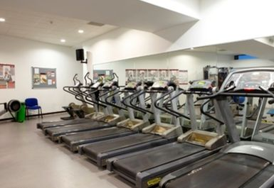 treadmills at Dulwich Leisure Centre