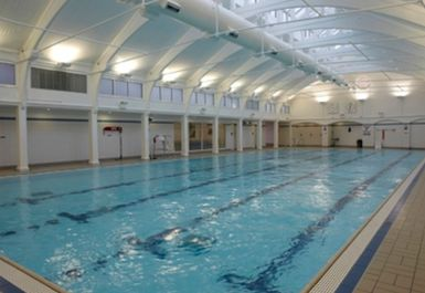 swimming pool at Dulwich Leisure Centre