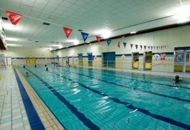 swimming pool at Clifton Leisure Centre Nottingham