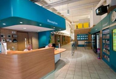 reception area at Clifton Leisure Centre Nottingham