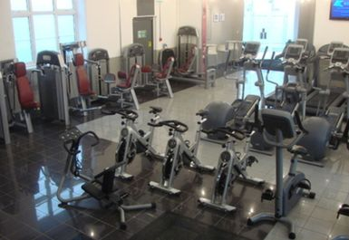 main gym area at the gym clinic london