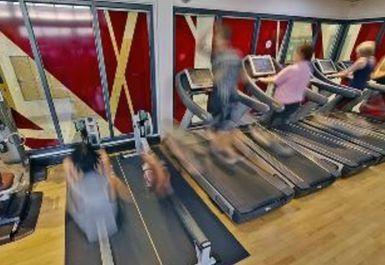 treadmills at Ken Martin Leisure Centre Nottingham