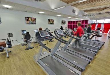 treadmills at Victoria Leisure Centre Nottingham