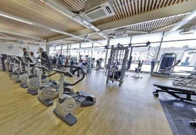 main gym area at Victoria Leisure Centre Nottingham