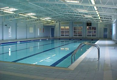 swimming pool at Hamble Sports Complex