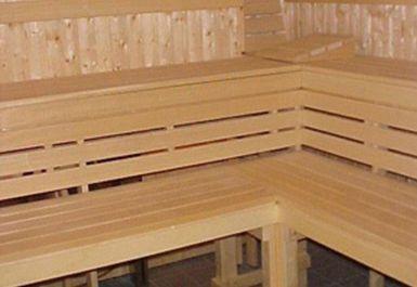 sauna at Hamble Sports Complex