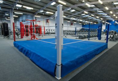 Boxing Ring at Xercise4Less Doncaster