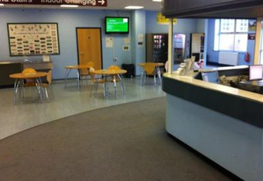 reception area at Handsworth Grange Sports Centre