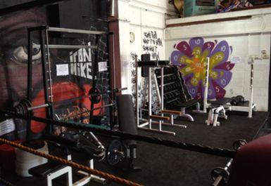 Weights Area at Splash Fit Derby