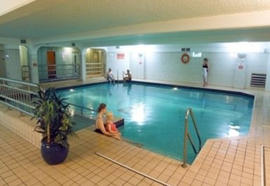 swimming pool at Club Continental Plymouth