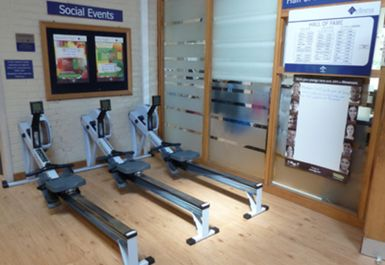 rowing machines at Lillie Road Fitness Centre