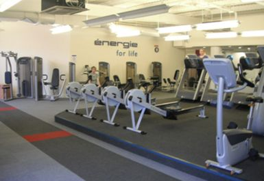 rowing machines at Energie Edinburgh Fitness Club