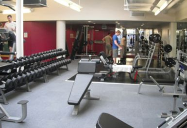free weights at Energie Edinburgh Fitness Club