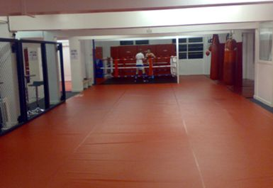 boxing ring at K-Star Thai Boxing Perry Barr Birmingham