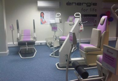 gym equipment at energie fitness for women london
