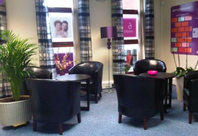 seating area at energie fitness for women london