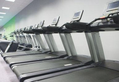 Treadmills at Helio Fitness Bolton