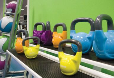 Kettlebells at Helio Fitness Bolton