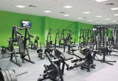Gym Equipment at Helio Fitness Bolton