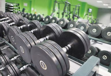 Free Weights at Helio Fitness Bolton