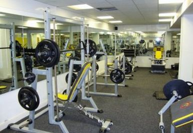 WEIGHTS EQUIPMENT AT BODY FLEX GYMNASIUM BRADFORD