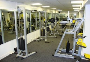 MAIN GYM AREA AT BODY FLEX GYMNASIUM BRADFORD