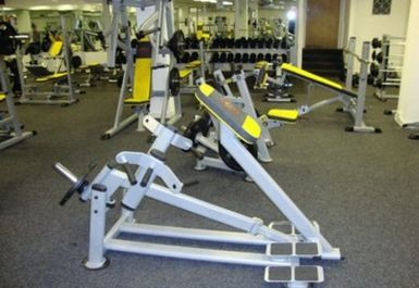 GYM EQUIPMENT AT BODY FLEX GYMNASIUM BRADFORD