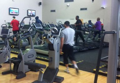 treadmills at Whitechapel Sports Centre