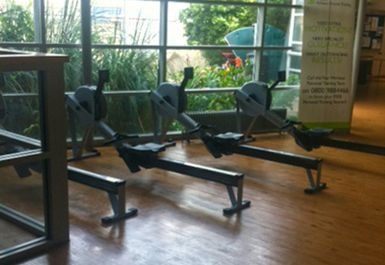 rowing machines at Whitechapel Sports Centre