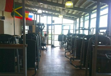 main gym area at Whitechapel Sports Centre