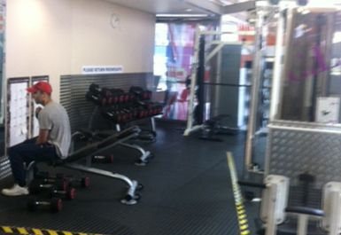 free weights at Whitechapel Sports Centre