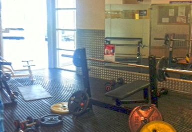 bench press at Whitechapel Sports Centre