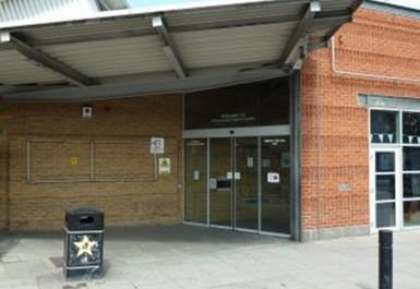 entrance at Whitechapel Sports Centre