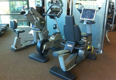GYM EQUIPMENT AT RAINBOW LEISURE CENTRE EPSOM