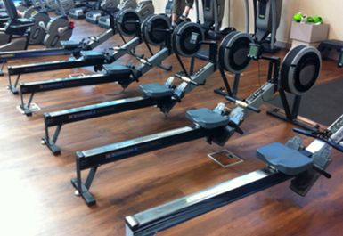 ROWING MACHINES AT RAINBOW LEISURE CENTRE EPSOM