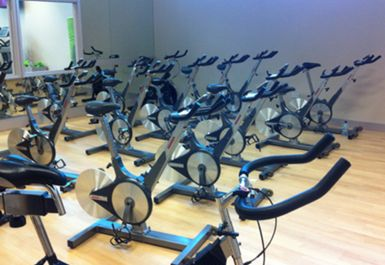 SPINNING STUDIO AT RAINBOW LEISURE CENTRE EPSOM
