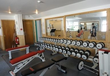 Weights at Falkirk Health Club