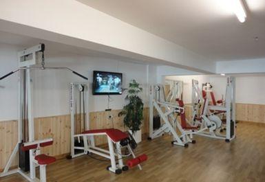 Weights Machines at Falkirk Health Club