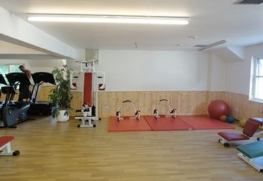 Exercise Area at Falkirk Health Club