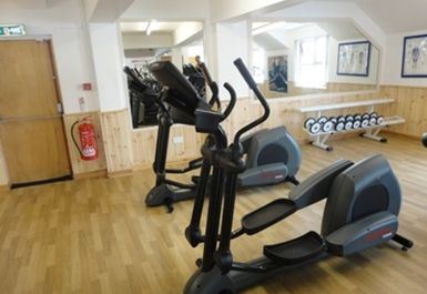 Cross Trainers at Falkirk Health Club