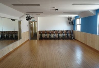 Exercise Studio at Falkirk Health Club