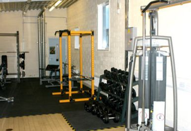 Weights Area at Greenway Centre Bristol