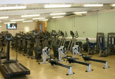Cardio Area at Greenway Centre Bristol