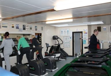 CARDIO EQUIPMENT AT DARTFORD GYM KENT