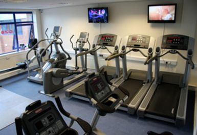 Treadmills at Core Fitness Centre Chester